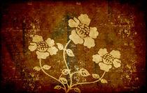 Flowers on The Wall von Milena Ilieva