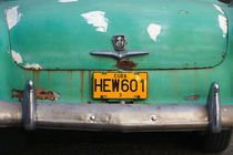 License Plate - Havana, Cuba by Colin Miller