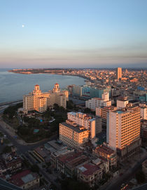 View of Havana at Sunset by Colin Miller