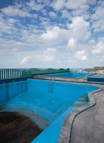 Empty Pool - Havana, Cuba by Colin Miller