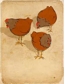Three French Hens von Imogen  Henlich