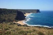cliff coast in Cronulla Natonal Park NSW Australia by michal gabriel