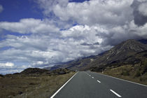 Lonely road in South Island New Zealand by michal gabriel