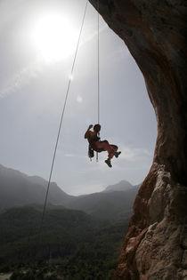 Swing on a rope by Danislav Mironov