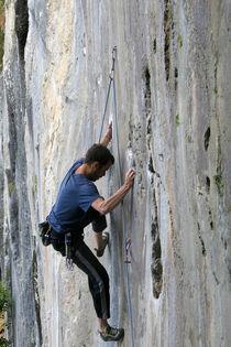 climbing a smooth wall von Danislav Mironov