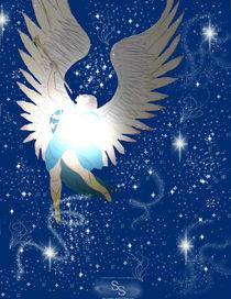 Arcangel Sandalphon by Shelley Singh
