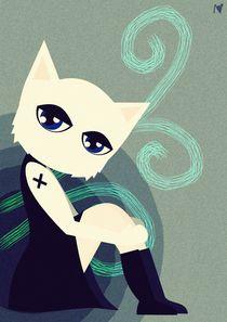 emo cat von Nimas Arum