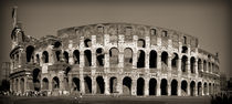 Coliseum sepia von Maximiliano Galain