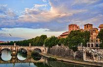 Roman scenic Landscape by Andrew Hartl
