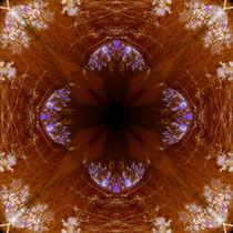 Sky Star Mandala 2 by Branden Thompson