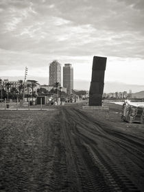 Cloudy day in Barcelona von fbphoto