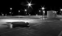 Parking lot at night von fbphoto