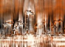 Frankfurt Skyline by annette nettesart