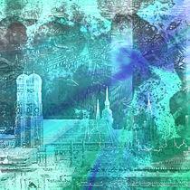 München Munich Skyline by annette nettesart