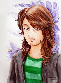 Self Portrait by Alver de Ocampo