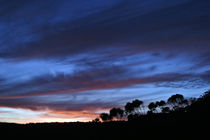 Majestic sunset in the mountains landscape von michal gabriel