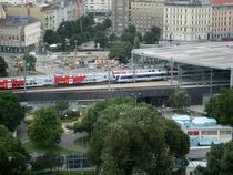 Bahnhof Wien Praterstern von Michel Petkovic