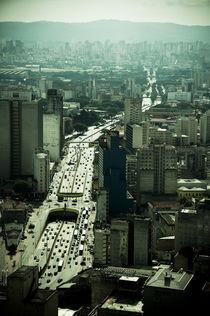Paulista Avenue by Gonzalo Luján