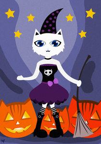 Happy CAT Halloween von Nimas Arum