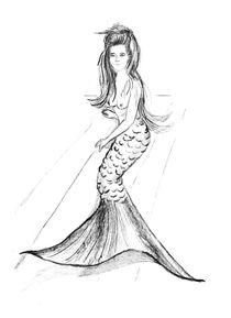 Kleine Meerjungfrau von Sonja Angela Ziehr