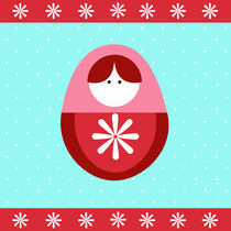 christmas russian doll by thomasdesign