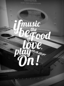 If Music Be The Food Of Love von Julien LAGARDÈRE