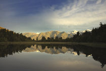 Lake Matheson, South Island, New Zealand by Marcus Adams