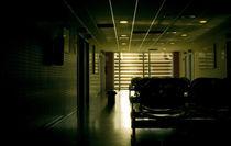 Hospital corridor by Victor Santos