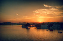 Udaipur Sunset by Marcus Adams