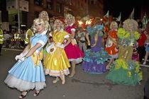 people in fancy dresses by michal gabriel
