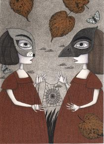 'Ana and Eva (An All Hallows' Eve Tale) ' by Judith  Clay