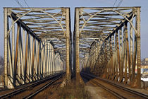 old railway bridge by michal gabriel