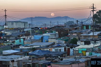 Moonset over Khayelitsha