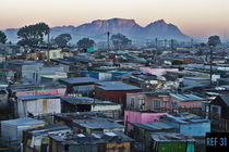 Sunrise over Khayelitsha