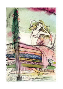 Princess on the pea von Elena Tsaregradskaya