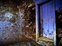 Blue door by Erik Schimmel