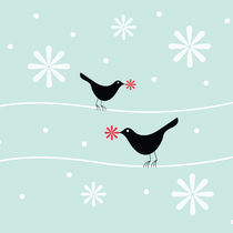 snowflake birds von thomasdesign
