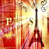Paris Collage by Städtecollagen Lehmann