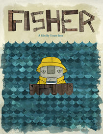 Fisher Poster by oneeyedrobot