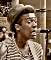 Street singer. von Maks Erlikh