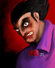 Scary Clown by jann-galino