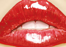 Strawberry lips von Sergio Laskin