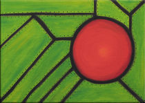 Red disc by pesogrgic