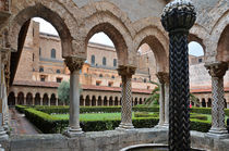 Cloister of the abbey of Monreale von RicardMN Photography