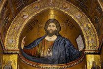 Christ Pantocrator mosaic, Monreale by RicardMN Photography