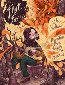 Fleet Foxes Poster by Logan Faerber