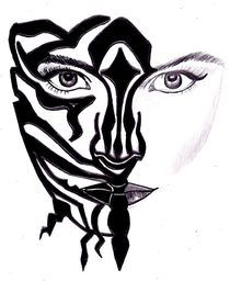 Zebra Face by laura seed