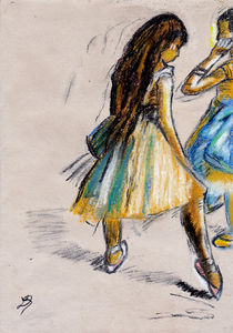 Two Dancers von laura seed
