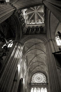 Vaults of Rouen Cathedral von RicardMN Photography