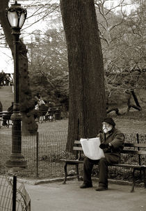 An artist in Central Park von RicardMN Photography